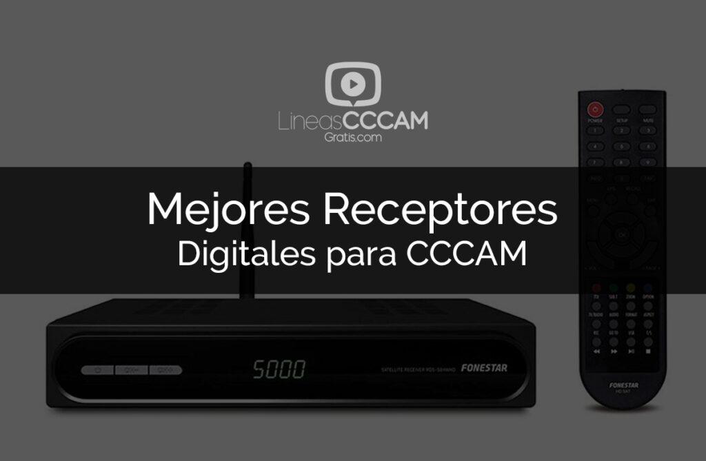 Los 7 mejores receptores de señal digital para ver líneas CCCAM